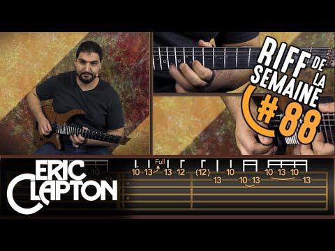 | RIFFS DE LÉGENDE | Layla d'Eric Clapton - Tuto Guitare