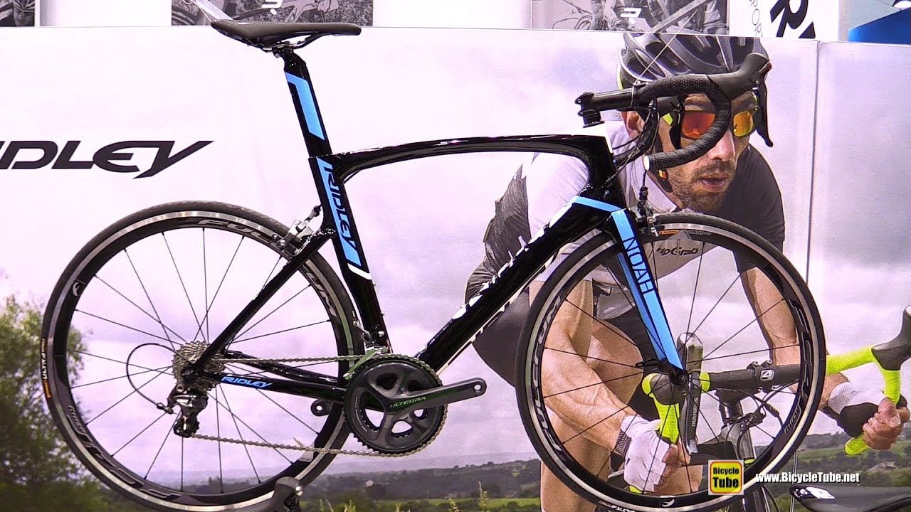2990bf086df 2017 Ridley Noah Road Bike - Walkaround - 2016 Eurobike - YouTube