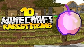 Top 10 Rarest Items In Minecraft
