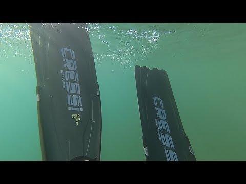 Как правильно подобрать ласты, размер ласт для подводной охоты  Ласты CRESSI gara modular LD