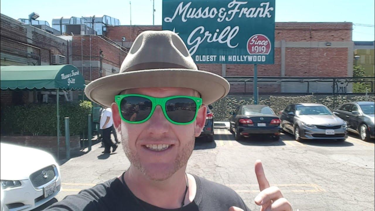 319 hollywood 39 s oldest restaurant musso frank grill 6 21 17 youtube - Musso and frank grill hollywood ...