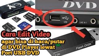 Cara Edit Video agar terbaca di USB DVD player (Pakai Android)