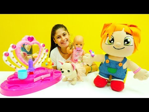 Eğitici çocuk videoları. Lili suyu boşa harcıyor 🌊🎀. #Bebekbakmaoyunu ve kız oyuncakları