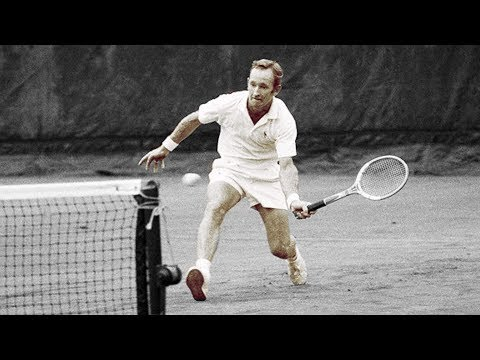 10 amazing points from one of the GOATs, Rod Laver