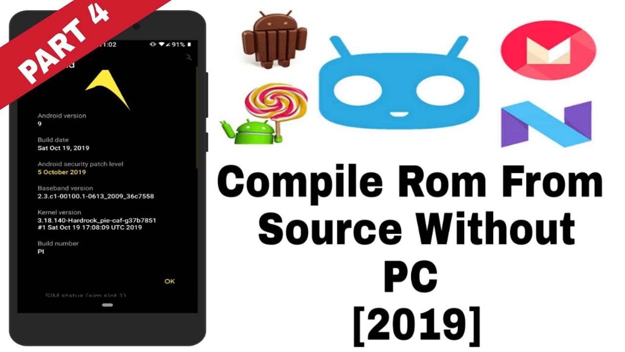 how to build any custom rom for your android phone download device source part 4