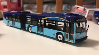 MTA 1:87 Scale New Flyer XD60 Articulated Bus #6023