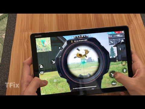 Huawei MediaPad M5 Lite Test Game Free Fire || Kirin 659 Ram 4GB Rom 64GB