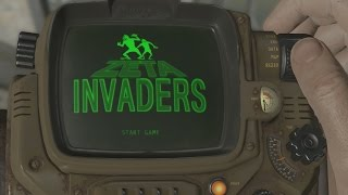 Fallout 4: Space Invaders Easter Egg - IGN Plays