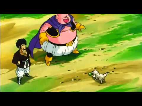 Dragon Ball Z Hercule convinces Buu to change and Bee gets killed poster