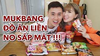 Mukbang Đồ ăn liền Việt Nam | ngon hay dở | Gia Đình Cam Cam Vlog 102