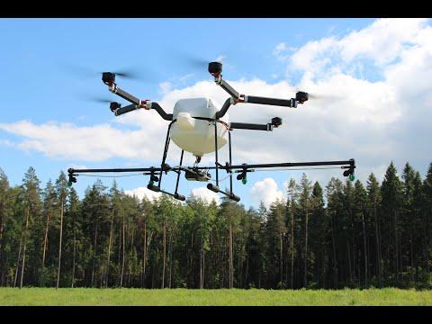 Сельскохозяйственный дрон ОСА || Беспилотник для сельского хозяйства