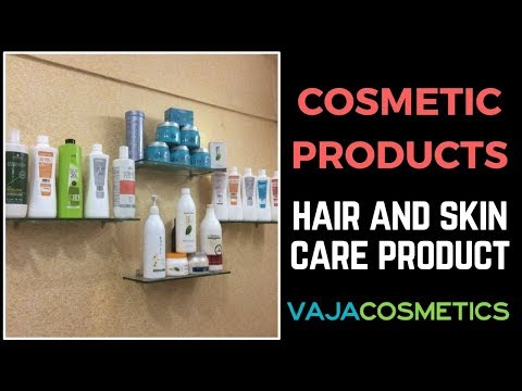 Cosmetic Products (Hair & Skin Care Products)