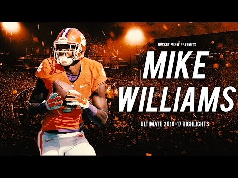 Clemson WR Mike Williams    Ultimate 2016-17 Highlights