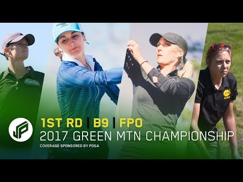 2017 GMC FPO | Round 1, Back 9 | Allen, Weese, Leatherman, Dionisio