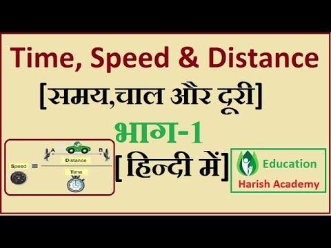Time, Speed & Distance ||समय,चाल और दूरी Part-1