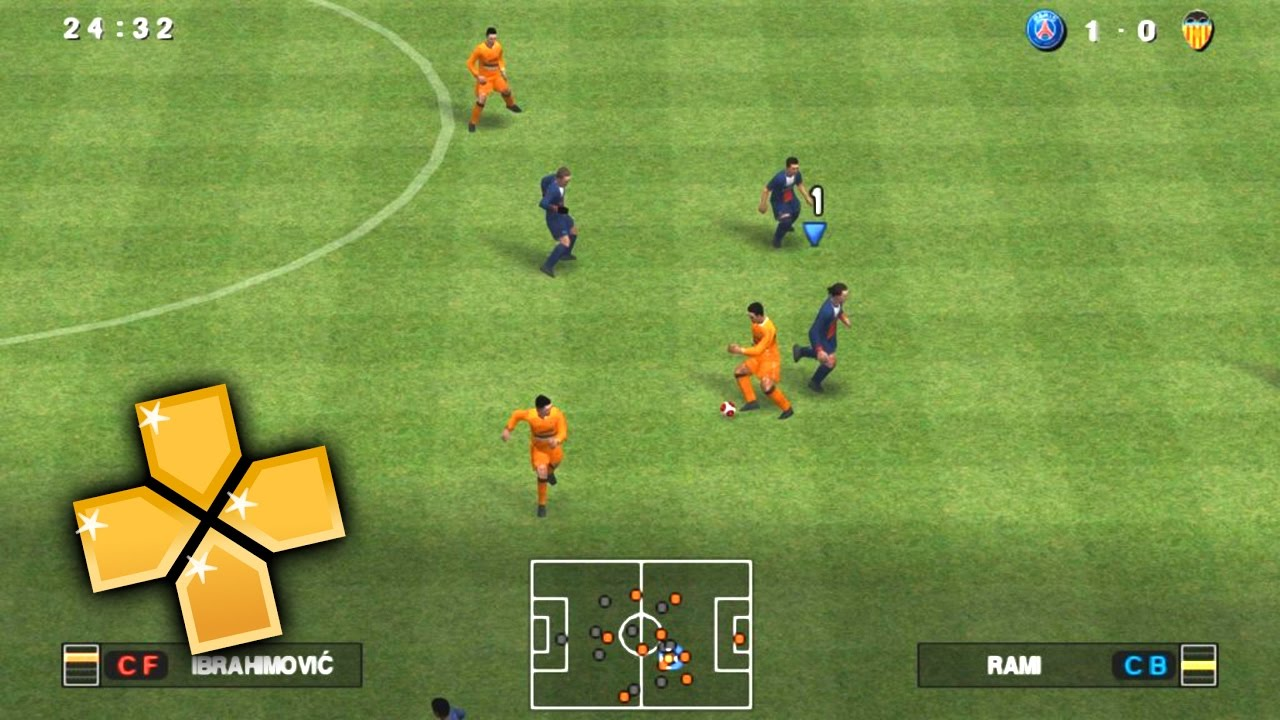 Pro evolution soccer 2014 [pes 2014] download game psp ppsspp.