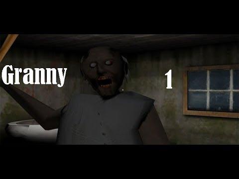 Bunica nebună mă fugărește cu bâta de baseball!!!Granny episodul 1!