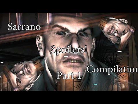 Bulletstorm  General Sarrano Funny Compilation Part 1