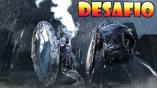 Dark Souls 2 Desafío #13: CABALLERO DEL ESPEJO con marginado nivel 1! TOTAL DESTRUCTION!
