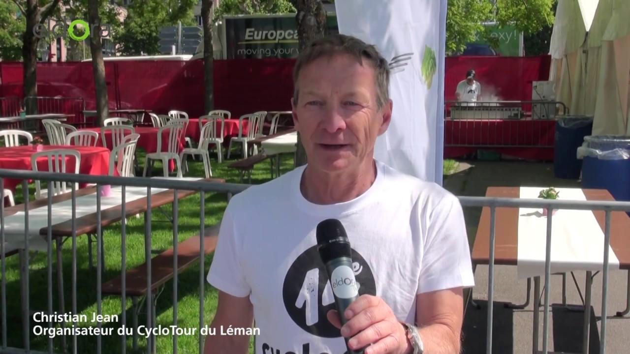 Interview Christian Jean, organisateur du Cyclotour du Léman