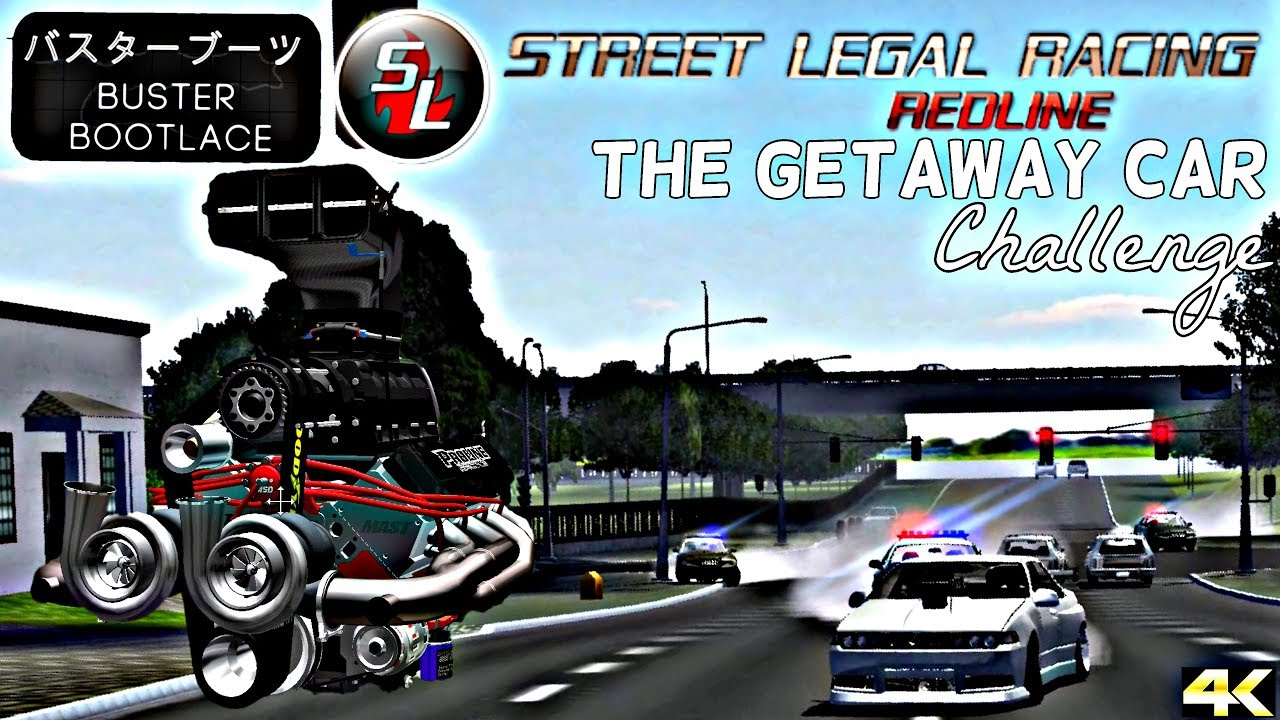 SLRR - The Getaway Car Challenge! V8 Supercharged Bi-Turbo Cefiro A31