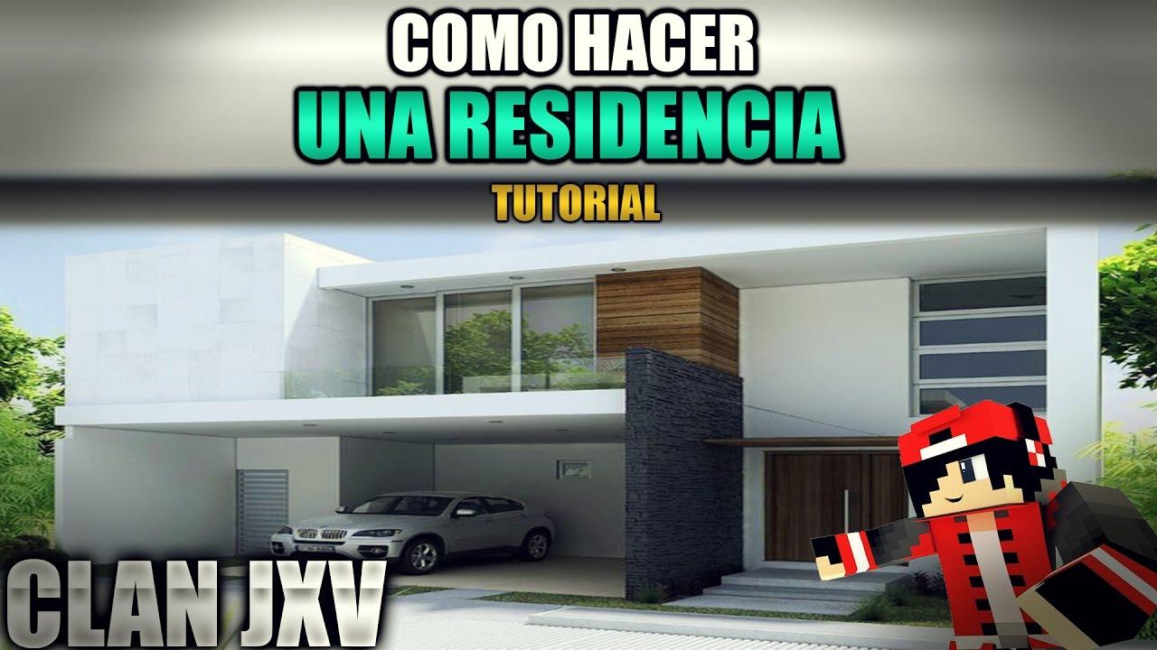 Como hacer una casa moderna en minecraft 2017 youtube for Casa moderna udine 2017 espositori