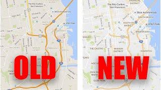 Google Maps Got New Design