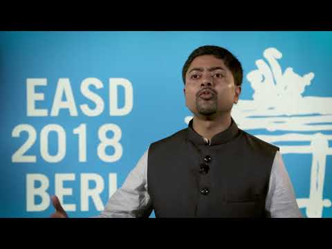 Deep Dutta, EASD 2018 – prediabetes, reversal and benefits of diet plans