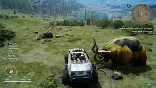 FINAL FANTASY XV - Regalia Type-D Off-Road Driving Gameplay | Update Patch 1.11 & 1.12 (1080p 60fps)