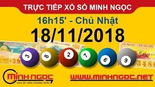 Xổ số Minh Ngọc™ Chủ Nhật 18/11/2018 - Kênh chính thức từ Minhngoc.net.vn