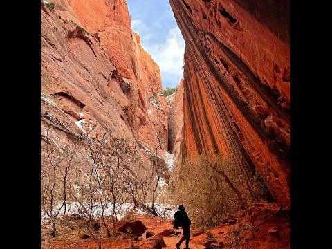 Zion Trip 2021 Canyoneering , Mountain Biking and can Kevin Climb the Namaste wall???