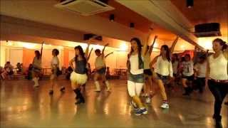 New York 2 LA line dance (10/3/14)