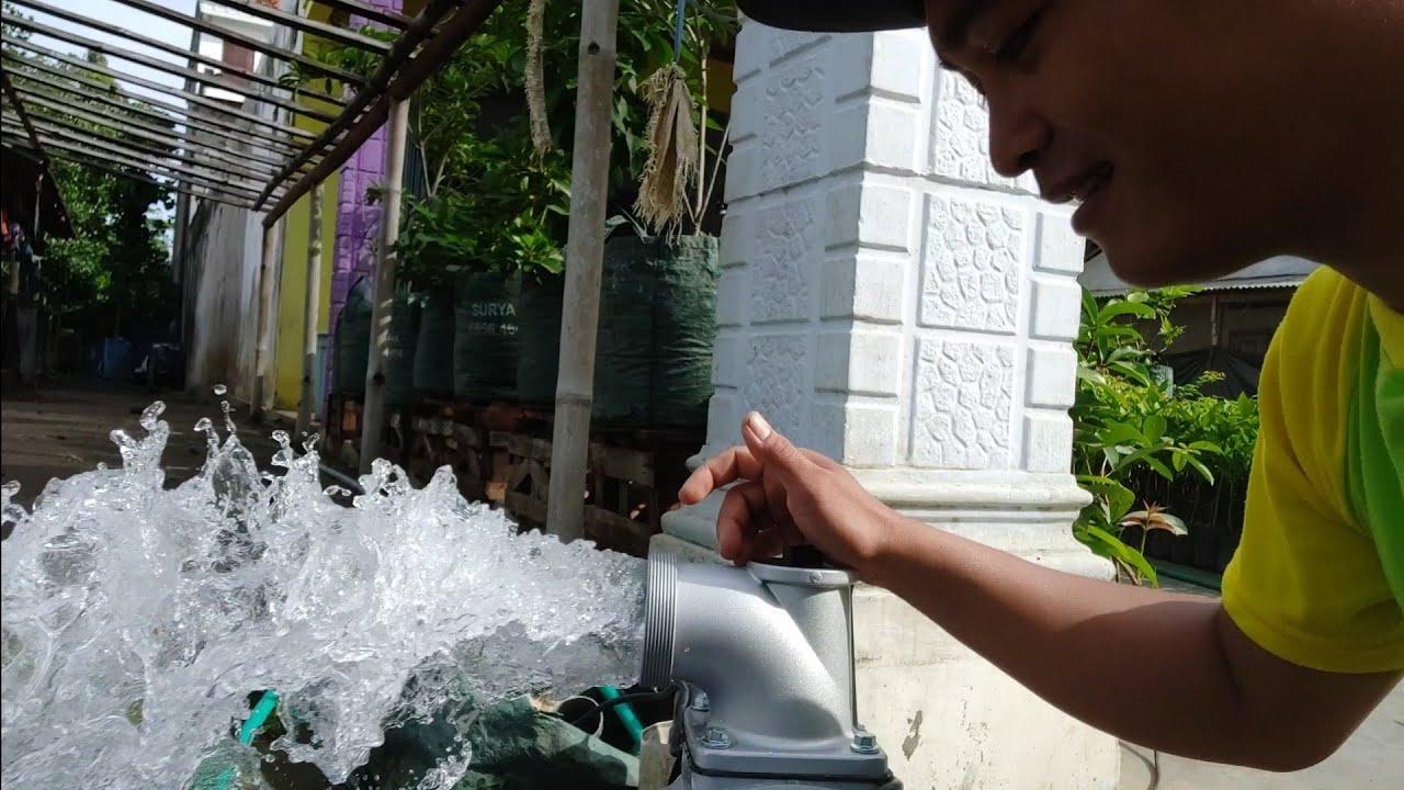 Pompa Air Banjir Jakarta Tangerang - YouTube