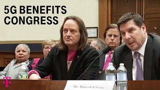 In Congress: T-Mobile CEO John Legere Shares 5G Benefits | T-Mobile