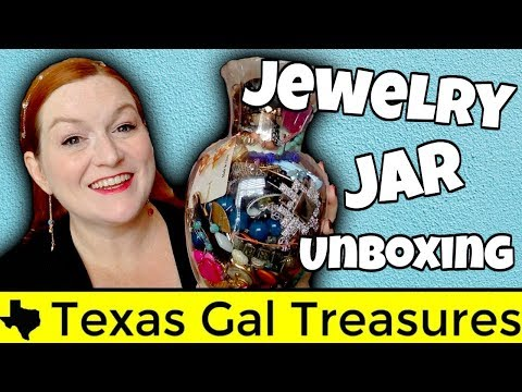 Live Jewelry Jar Unboxing 2017 -  Opening a Jewelry Jar - Can I Make My Money Back
