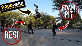HOW TO BACK FLIP WITHOUT A FOAMPIT OR RESI