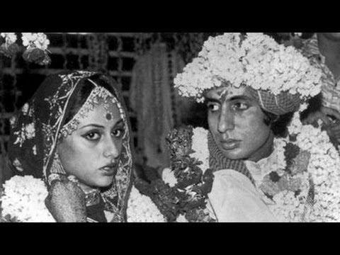 ACTOR AMITABH BACHCHAN JAYA BHADURI OFFICIAL MARRIAGE PICS
