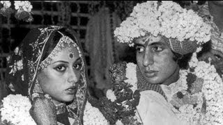ACTOR AMITABH BACHCHAN  JAYA BHADURI OFFICIAL MARRIAGE PICS