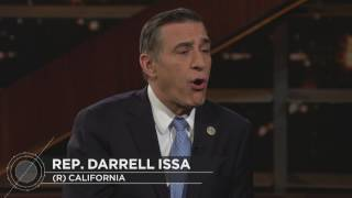 Rep. Darrell Issa Interview | Real Time with Bill Maher (HBO) Free HD Video