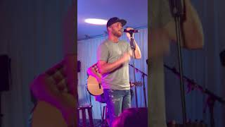 Cole Swindell - break up in the end live performance