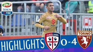 Cagliari - Torino 0-4 - Highlights - Giornata 30 - Serie A TIM 2017/18