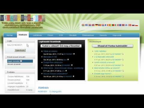 VinNumber.Info - Magyar Demo