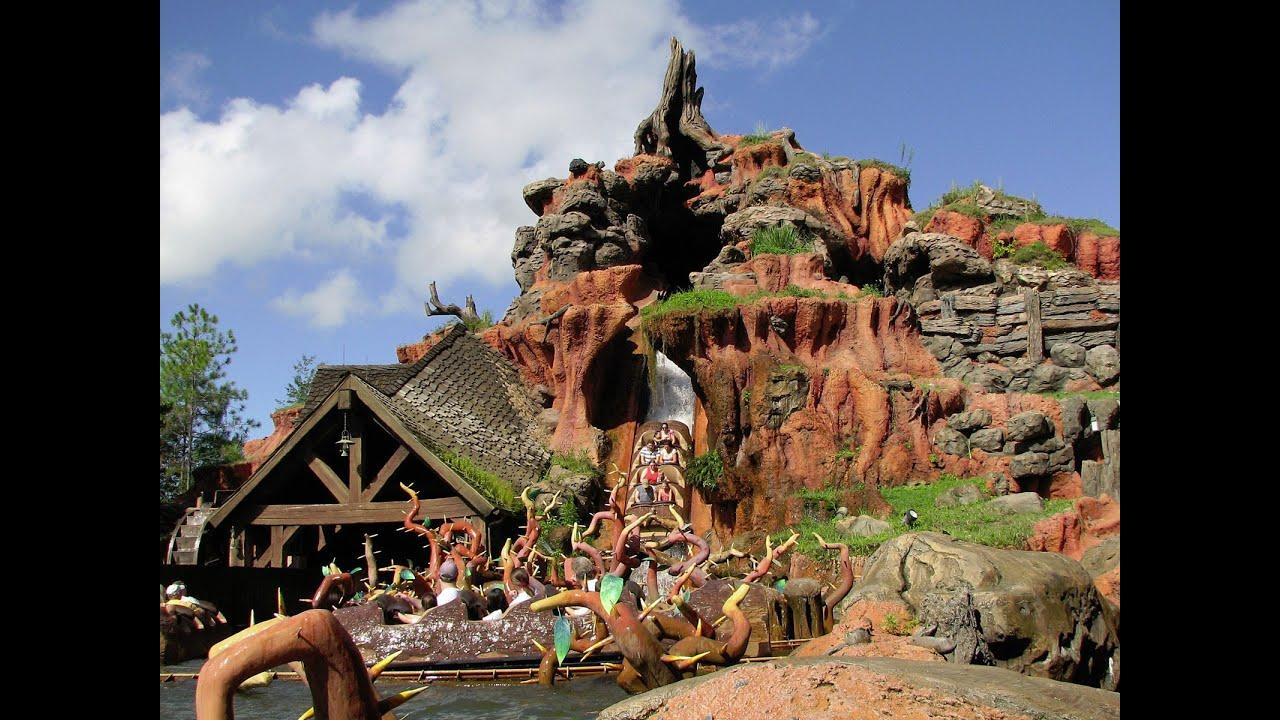 Disney's Splash Mountain On-Ride POV Disney World HD Multi ...