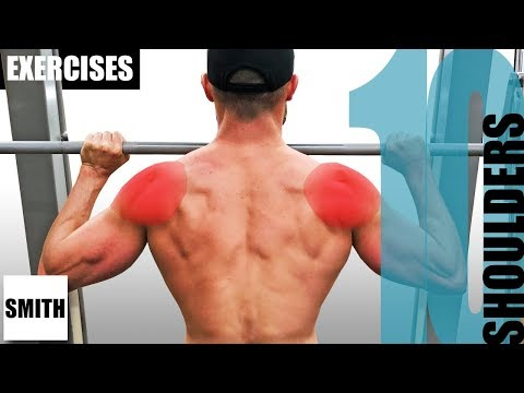 10 SMITH MACHINE SHOULDER EXERCISES AND THE MUSCLES THEY TARGET