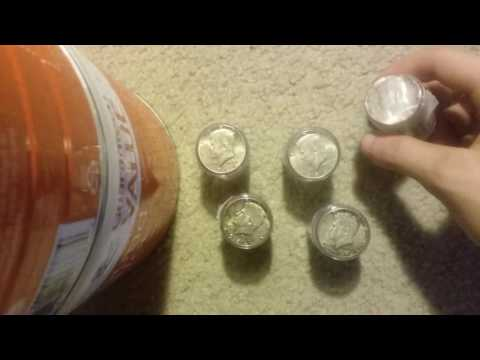 Unboxing $50 Face Value Of Silver Half Dollars