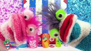 Don't Pick the Wrong Fizzy Toy Show Surprise Slime Ingredients Challenge