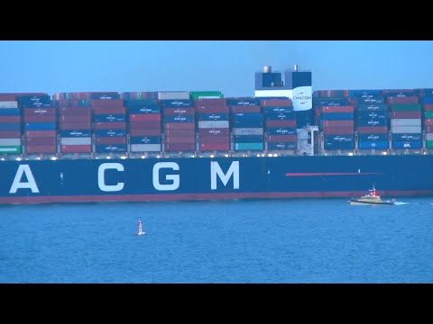 Halifax breaks record after welcoming massive container ship