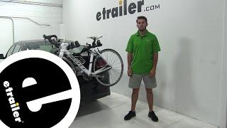 Hollywood Racks Express Trunk Bike Racks Review - 2017 Hyundai Elantra