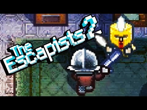 Escaping the Hardest Dungeon Prison! - The Escapists 2 Gameplay - Escapists 2 Update