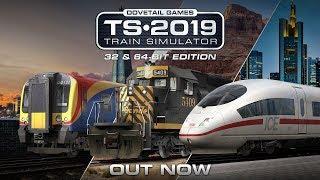 Krótka przejażdżka w Train Simulator 2019
